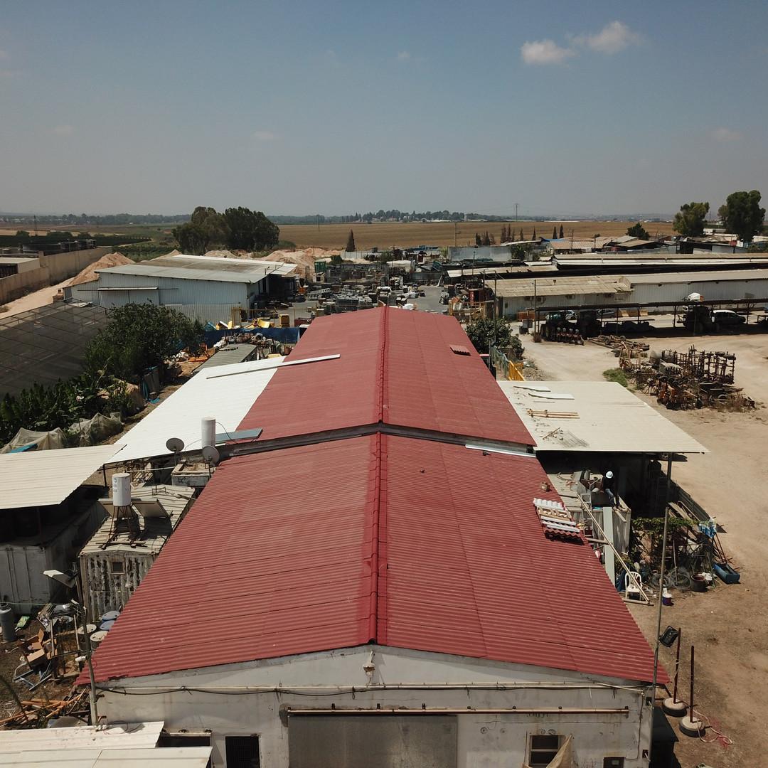 החלפת גג מבנה