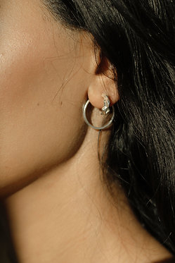 Spica Hoops with circle backing
