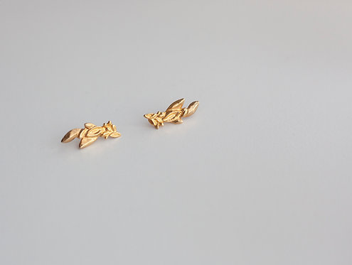 Bloom Earrings Gold