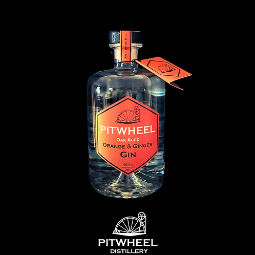 Pitwheel Oak Aged Orange & Ginger Gin