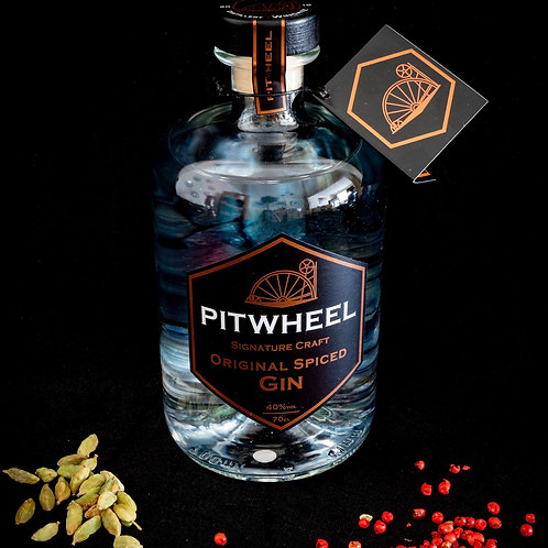 Pitwheel Original Spiced Gin 70cl