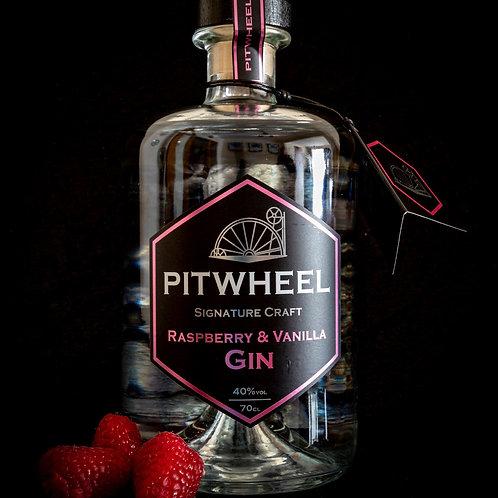 Pitwheel Raspberry & Vanilla Gin 70cl