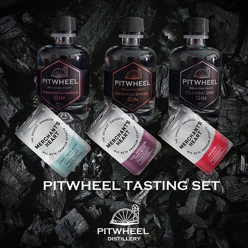 Pitwheel Tasting Set (inc Merchants Heart Tonics)