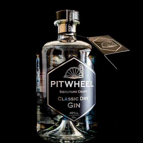 Pitwheel Classic Dry Gin 70cl
