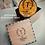 Thumbnail: Personalized Monogram Engraved Wood Slice  Coasters Set of 4