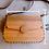 Thumbnail: Vintage wooden bag, wood clutch, black girls vintage handbag, brown wooden bag