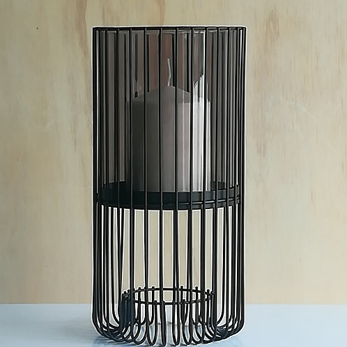Black Wire Candleholder
