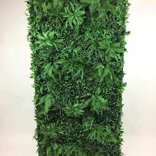 Lush Green Wall Panels