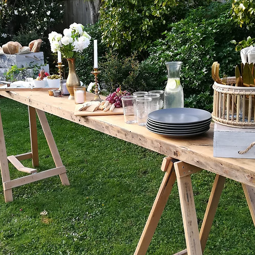 GRAZING TRESTLE TABLE (KAURI)