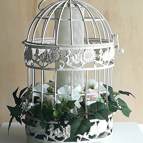 French Birdcages with flowers