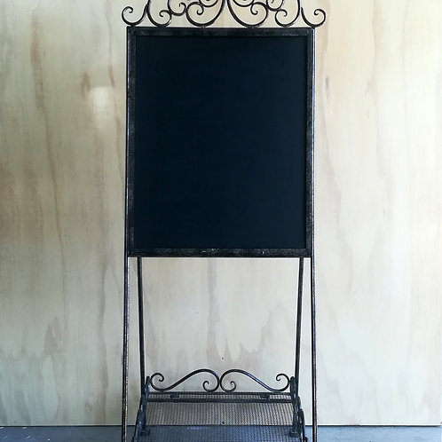 Bronze Wrought Iron Chalk Board