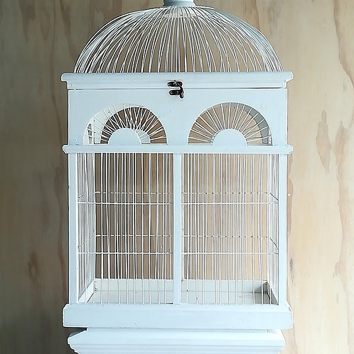 LARGE BIRDCAGE/WISHING WELL