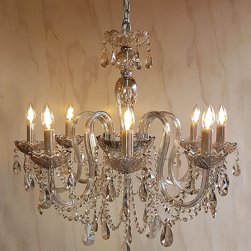 French Champagne Chandelier
