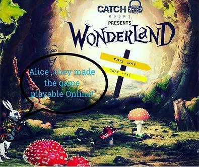 Catch Room 22 presents Wonderland Online Escape Challenge