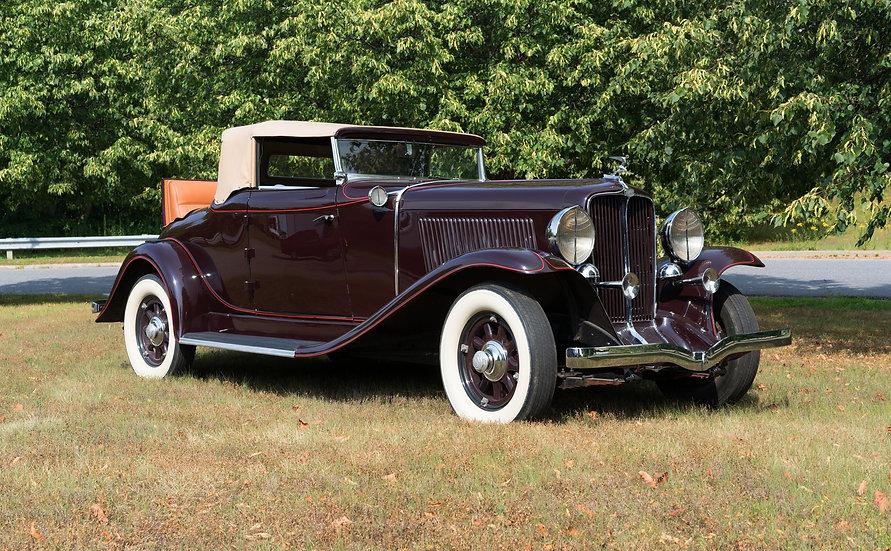 1931 Auburn 8-98A Custom Convertible Cabriolet