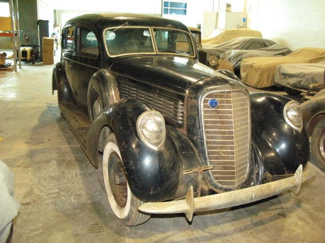 1937 Lincoln K Judkins Sedan