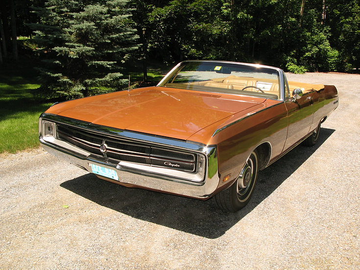 1969 Chrysler 300 TNT Convertible
