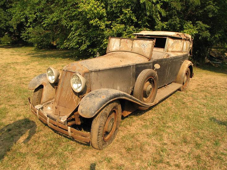 1931 Renault Reinastella Kellner town landaulet