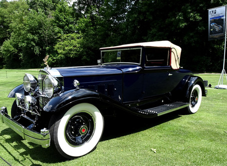 1931 PACKARD 840 IS ONE OF FIVE