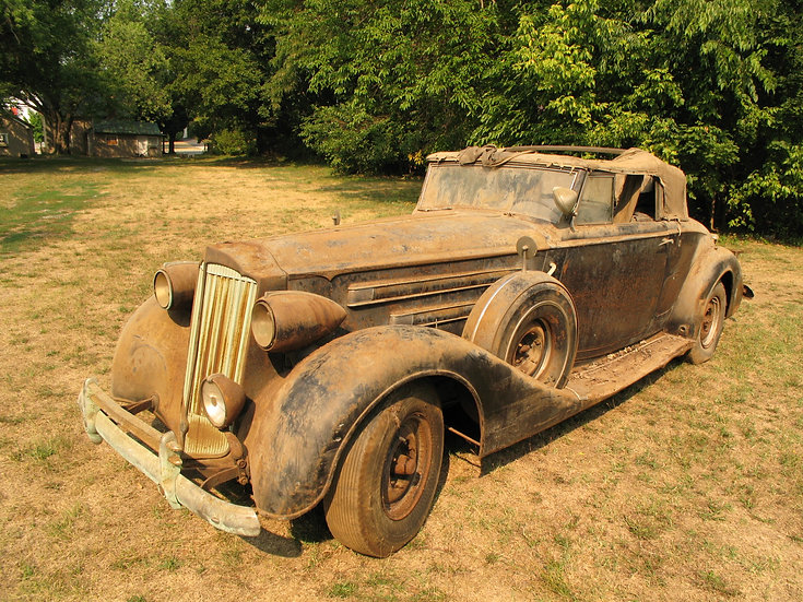 1937 Packard Twelve Convertible Coupe