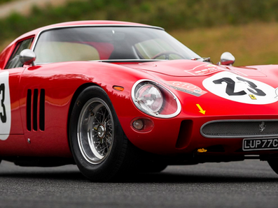 1962 FERRARI GTO EXPECTED TO SET AUCTION RECORD