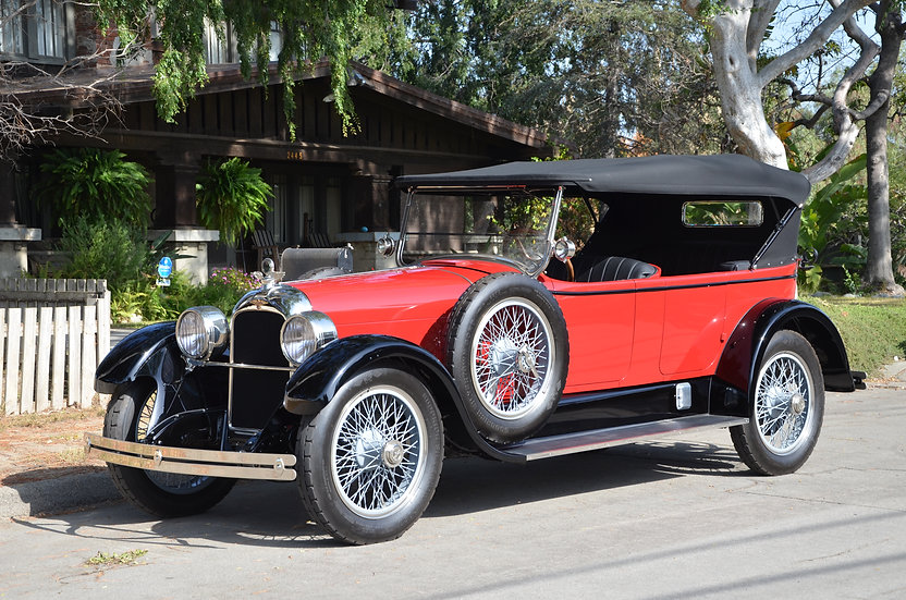 SOLD: 1923 Model A Duesenberg Millspaugh & Irish 5-Passenger Touring