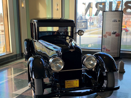 HISTORIC DUESENBERG DONATED TO ACD MUSEUM