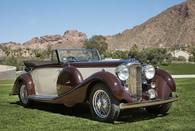 1936 Lagonda LG45 Drophead Coupe