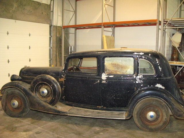 1935 Lincoln Twelve Sedan