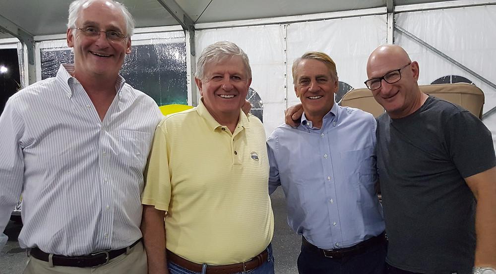 Yours truley, Dave Kane, Piers Macdonald, Mark Hyman