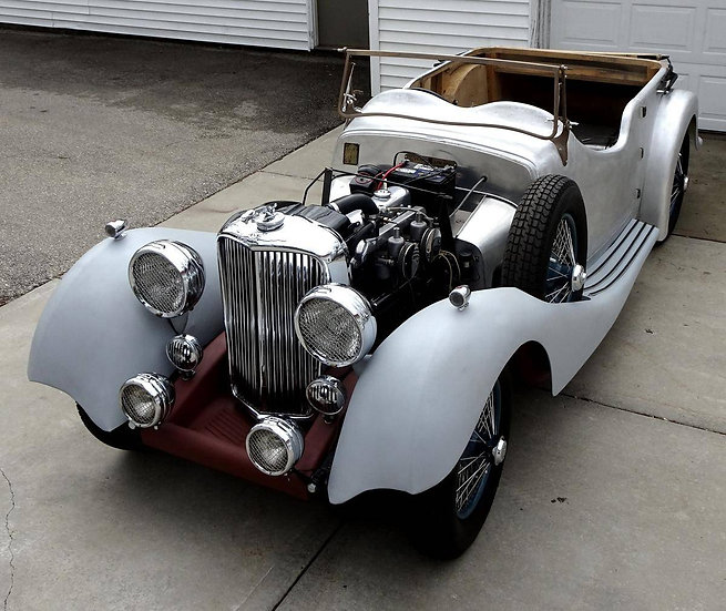1936 SS Jaguar 2-1/2 Litre Open Tourer