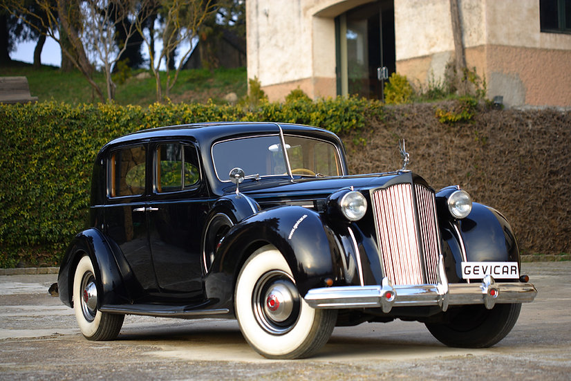 1938 Packard Twelve Club sedan