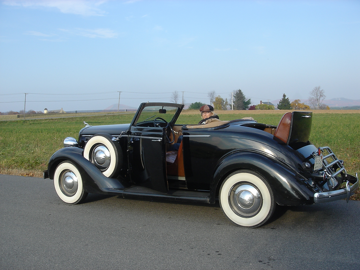 1935 Dodge Convertible Coupe