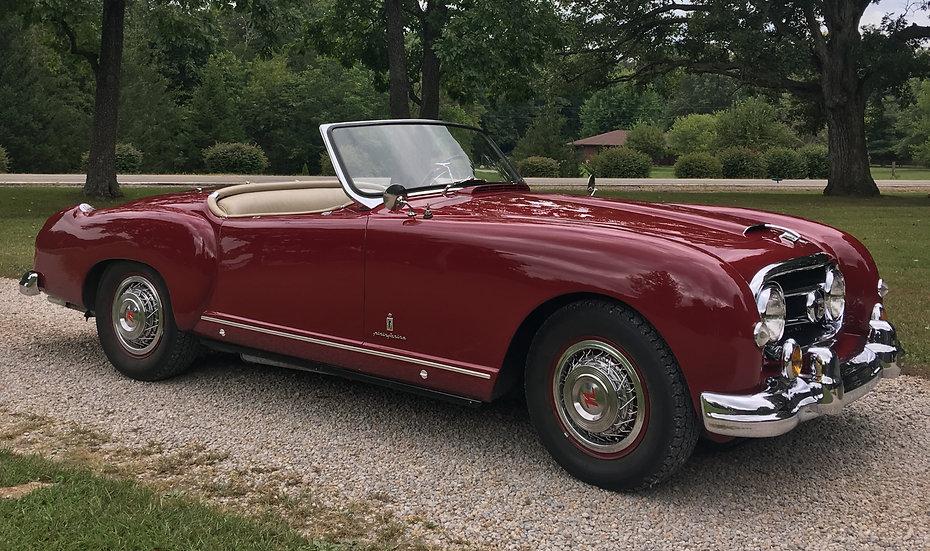 SOLD: 1953 Nash Healey Roadster