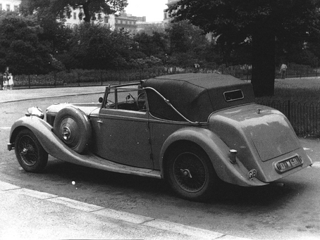 RARE ALVIS EMERGES FROM 40-YEAR SLUMBER