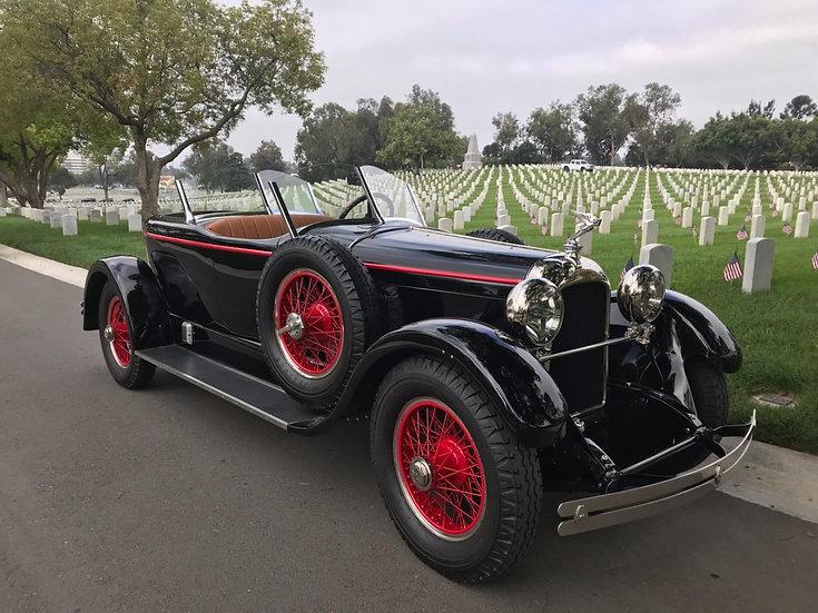 SOLD: 1924 Duesenberg Model A Custom Dual-Cowl Speedster