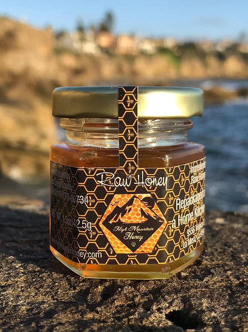 1.8oz Orange/Almond Raw Honey