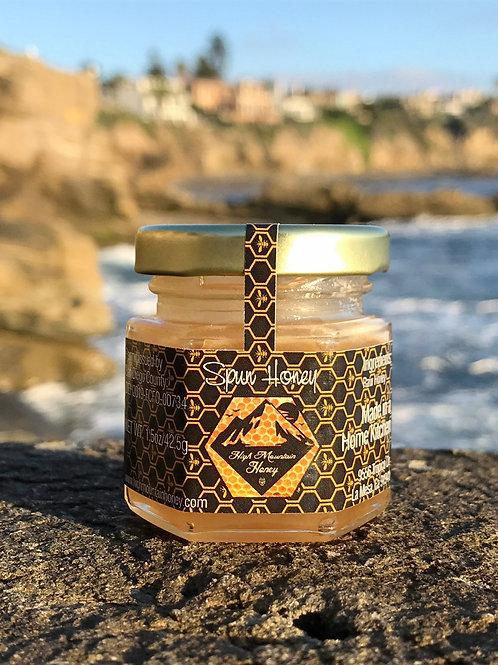 1.8oz Spun Raw Honey