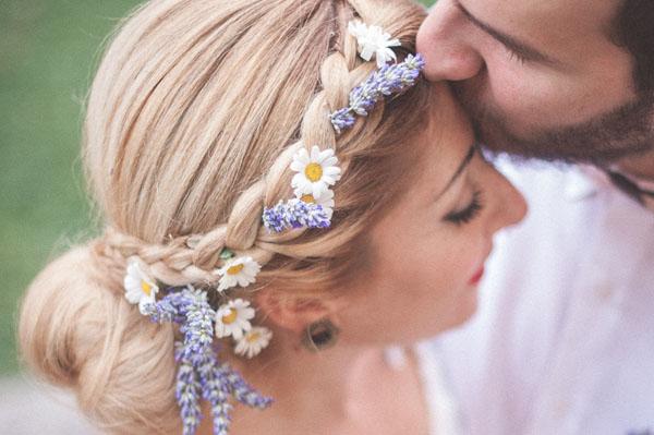 Bouquet Sposa Lavanda E Margherite.20 Dettagli Pastello Per Un Matrimonio In Primavera