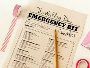Il kit di emergenza della sposa, cos'è e cosa contiene!