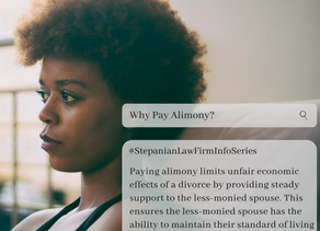 Why Pay Alimony?