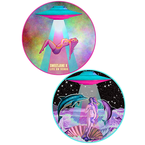 Life On Venus Stickers!