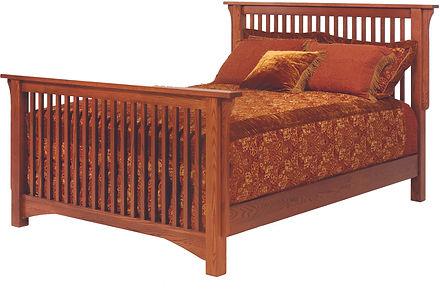 Mission Slat Bed Millcraft Amish