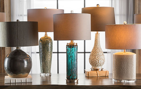 hand made table lamps