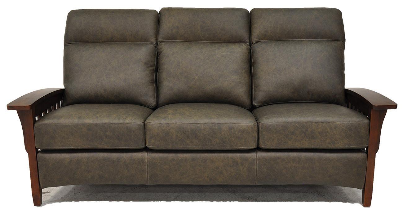 Prairie Mission Leather Sofa