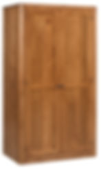 MFG242WD Wardrobe Closed Brown Maple S14