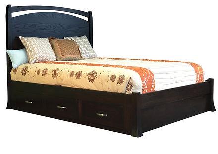 Oasis Platform Storage Bed