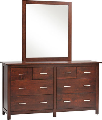 Millcraft amish dresser and mirror