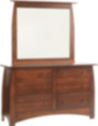 Millcraft Amish Maple Dresser