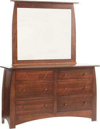 Millcraft Amish Maple Dresser